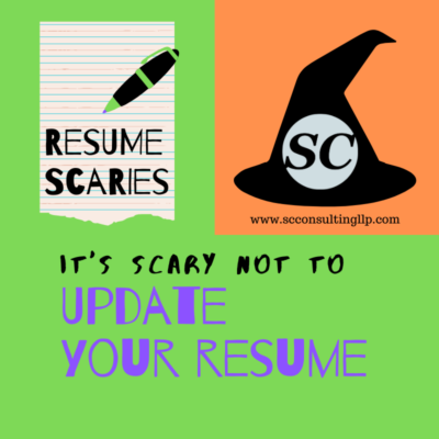 scary not to update your resume