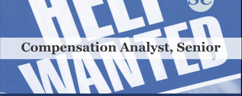 Compensation Analyst Senior