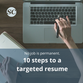write a targeted resume