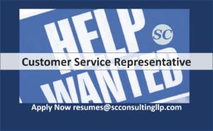 Customer Service Representative Help Wanted