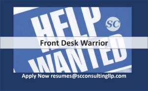Front Desk Warrior