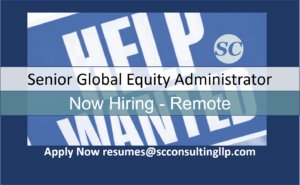 Senior Global Equity Admin
