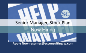 Senior Manager Stock Plan