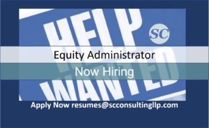 Equity Administrator Help Wanted