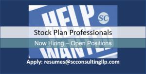 Stock plan professionals