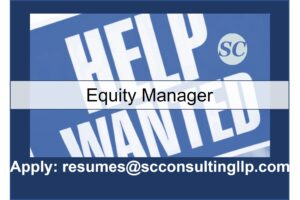 Equity Manager Now Hiring